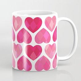 RUBY HEARTS Coffee Mug