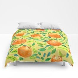 Citrus Yellow Comforters