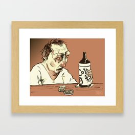 The Drunk Framed Art Print