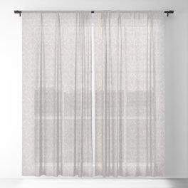 FRENCH LINEN KHALI Sheer Curtain