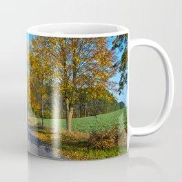 Autumnal feeling of October Coffee Mug