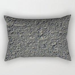 Texture #2 Asphalt Rectangular Pillow
