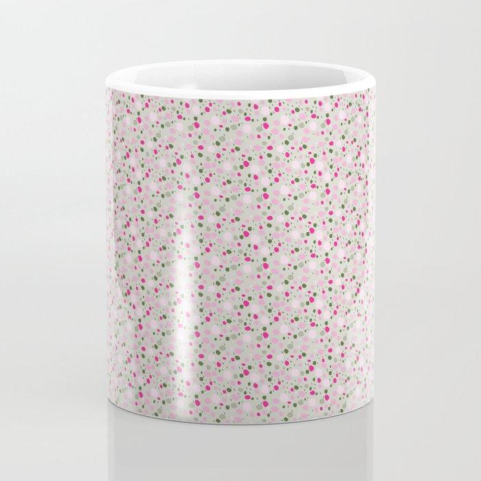 Rose Colored Circles Coffee Mug