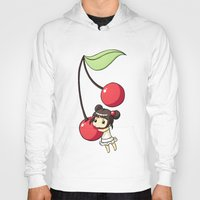 cherry Hoodies featuring Cherry by Freeminds