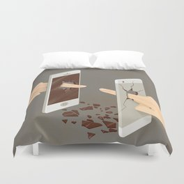 The Real Touch Duvet Cover