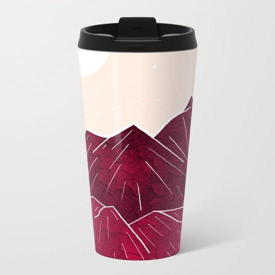 Ruby Mountains Metal Travel Mug