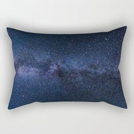 A galaxy of stars in the night sky Rectangular Pillow