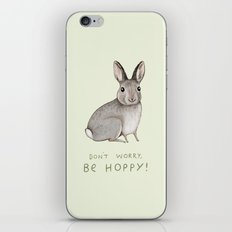 Don't Worry Be Hoppy iPhone & iPod Skin