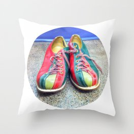 Let's Go Bowling! Throw Pillow