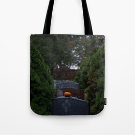 Halloween in the Cemetery Tote Bag
