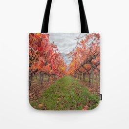 Vines in Autumn Tote Bag