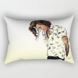 Harry Styles: Butterflies Rectangular Pillow