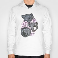 bears Hoodies featuring Blushing Bears in Bears by ECMazur