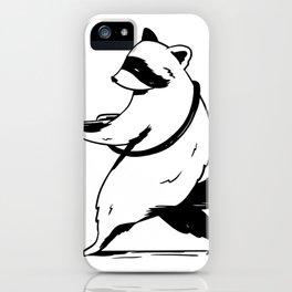 Waschbaer iPhone Case