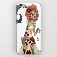 spice iPhone & iPod Skins featuring Spice by Lanrin Heart