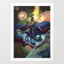 The Dreamteller of Lucid Dreams Art Print