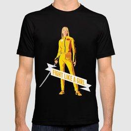 Fight Like a Girl: Beatrix Kiddo T-shirt