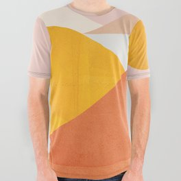 Abstraction_Mountains All Over Graphic Tee