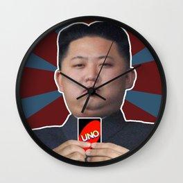 kim jong uno Wall Clock