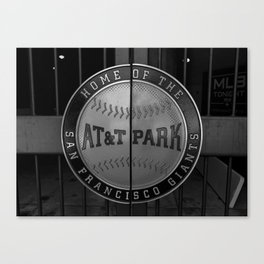 Home of the SF Giants Canvas Print