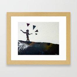 Aware Moment Framed Art Print