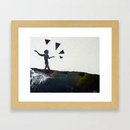Aware Moment Framed Art Print