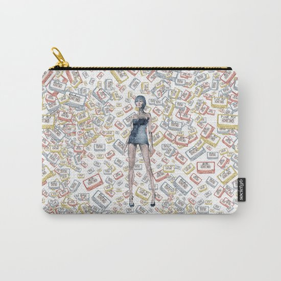 London Club Scene | Punk Rock Girl  Carry-All Pouch