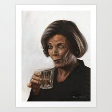 Arrested Development Lucille Bluth Art Print