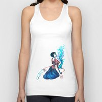 lace Tank Tops featuring Lace by Carrie Eli