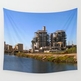 Power Station Wall Tapestry