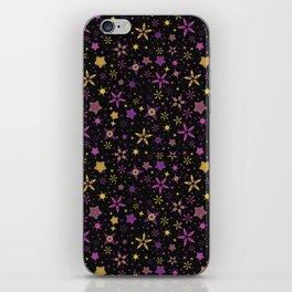 Bright Starry Night Sky iPhone Skin