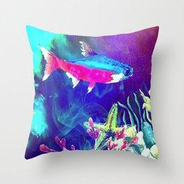 Underwater World 1 Throw Pillow
