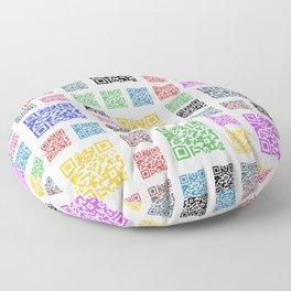 fun of QR Floor Pillow