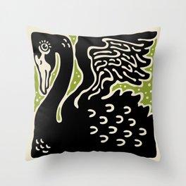 Black Swan 123 Throw Pillow