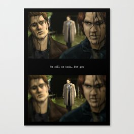 We will be back... for you - Supernatural Canvas Print