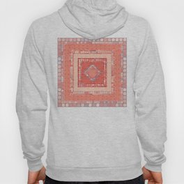 Multicolor Abstract Geometric Design Hoody