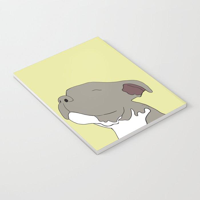 Sunny The Pitbull Puppy Notebook