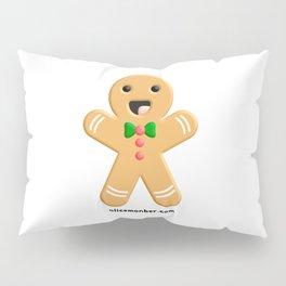 Cute Ginger Cookie Gingerbread Men Pillow Sham