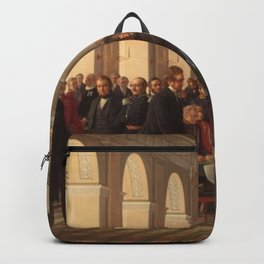 Constantin Hansen - The fathers of the Danish constitution assembled in Copenhagen Backpack