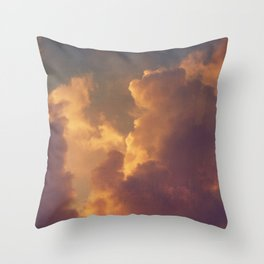 After the Storm (Pink Version) Throw Pillow