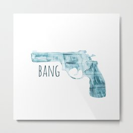 gun Metal Print