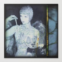 Ballad of the Showgirl Canvas Print