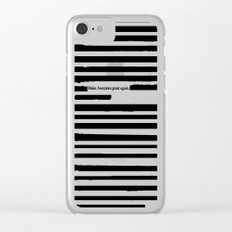 Alternative Facts Cyrillic Clear iPhone Case