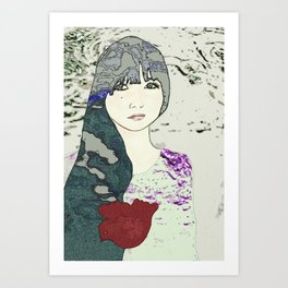 Dreaming of Freedom  Art Print