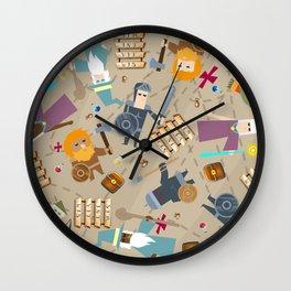 Treasure Chests & Potions Wall Clock