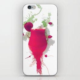 Sorbet fraises chantilly painting colors fashion Jacob's Paris iPhone Skin