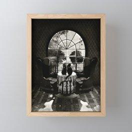 Room Skull B&W Framed Mini Art Print