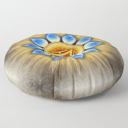 Manipura Chakra - Solar Plexus Chakra - Series IV Floor Pillow