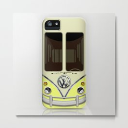 Special Gift for Summer Holiday yellow minivan minibus iPhone 4 4s 5 5c 6, pillow case and mugs Metal Print