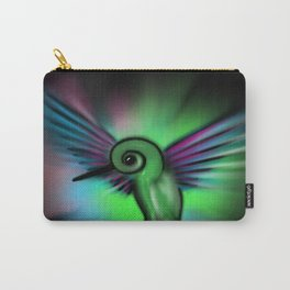 Hummingbird Color Cosmic Carry-All Pouch